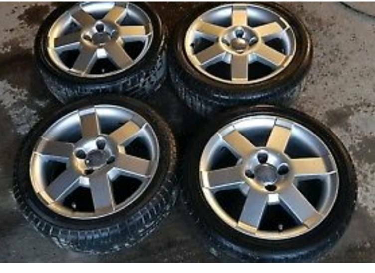 Ford Ka Fiesta Set Of Four  Alloy Wheels Jx Etx