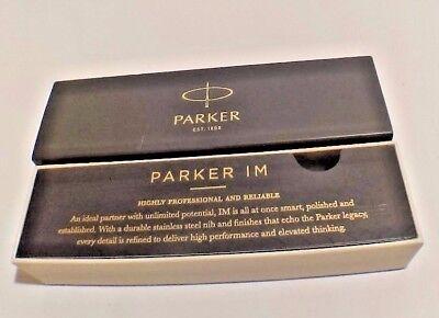 - Parker IM Stick Black Barrel/Ink Fine Point Roller Ball Pen
