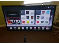 LG 42 inch supper slim line 3D smart led with remote