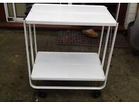 Retro vintage style fold up trolley