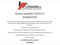 Rooms Available TODAY in EDGBASTON