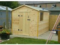 Sheds and fencing