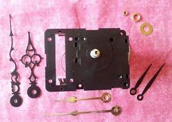 SHORT SHAFT Non-Pendulum Seiko Dual Chime Quartz Clock Movement Kit! (128)
