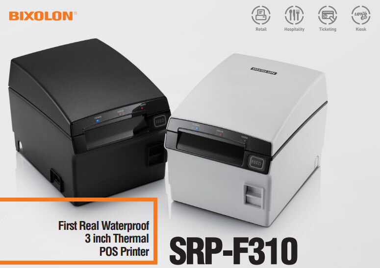 BIXOLON SRP-F310ii COPK - USB & LAN + PAR - FRONT EXIT WATERPROOF Printer  NEW