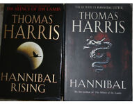 Thomas Harris hardback books - Hannibal