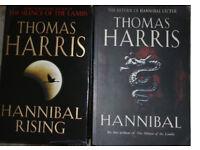 Thomas Harris hardback books - Hannibal