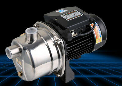 370w Water Pressure Booster Pump Self Priming Electric Water Pump 9m Max Suction
