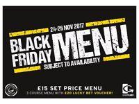 Black Friday 50% off FOOD!