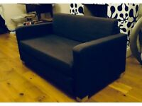 IKEA SOFA BED - GUN METAL GREY 🚚 DELIVERY AVAILABLE🚚