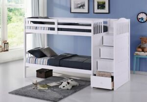 NEW ★ Staircase Bunk Beds ★Single / Single or Double