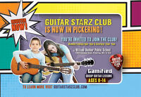 Guitar Lessons in Pickering for children!