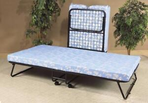 """Folding Bed with 3"""" Thick Foam Mattress"""