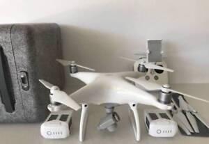 DJI Phantom 4 Drone w/ additional Battery & SD Card