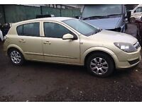Vauxhall Astra H 1.8 Auto Gold mk5 **BREAKING FOR PARTS** Call us on 07398715999 for more info