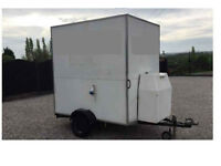 SMALL CATERING TRAILER PROJECT