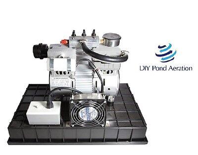 New 3cfm 12hp Pump 26hg With Ventsfan Air Pumpcompressorveneeraerate