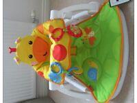 Fisher Price Sit Me Up Giraffe Baby Seat