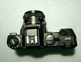 PENTAX A3 camera with 50mm CHINON lens.