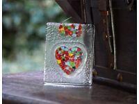 Handmade Unique Heart Glassware - Excellent Valentine's Gift