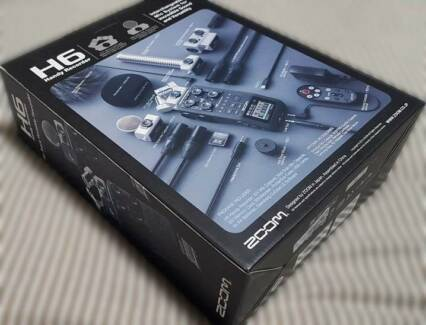 ZOOM H6 - AUDIO RECORDER BRAND NEW IN BOX - FILM - MUSIC Sydney City Inner Sydney Preview