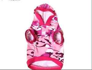 Doggie Pink Camouflage hoodie size M