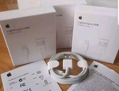 Chargeur iphone 6/7/8/X/SE/C/S/+/SE câble USB LIGHTNING Apple 1/M valeur 24e d'occasion  Expédié en Belgium