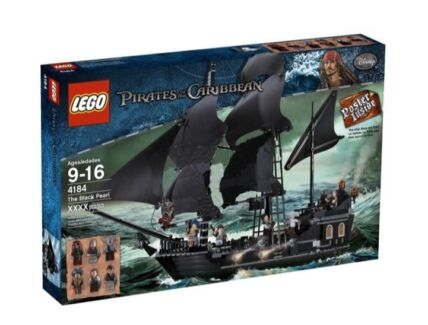 Lego 4184 Pirates of Caribbean The Black Pearl Brand New in box Blackburn Whitehorse Area Preview