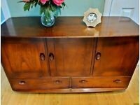 Vintage Ercol Windsor Sideboard Midcentury Great Condition