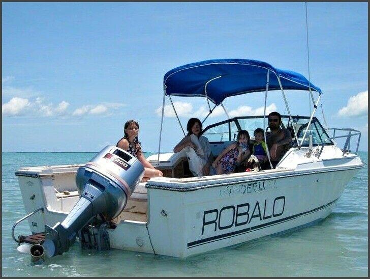 22-Foot Robalo Walkaround Cuddy Cabin--NO RESERVE