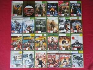 ★XBox 360 Games $10 Each (4 Games $30) (15 Games $100) Logan Village Logan Area Preview