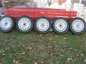 5 Très bons Pneus TOYO sur rim 5X100 Subaru pas cher !!!!