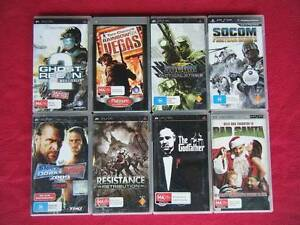 ★PlayStation PSP 7 Games & 1 Movie ($35 for all 8 or $10 each) Logan Village Logan Area Preview