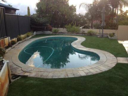 artificial grass & fencing&paving & house painting&flooring Canning Vale Canning Area Preview