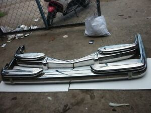 Mercedes W100 Bumper in Stainless steel