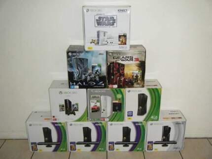 ★XBox 360 Consoles (Kinects/Wheels/Headsets/Games/Cables/Etc)
