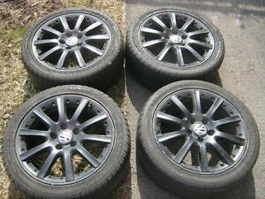 Mags noir VW 17 POUCES Model  BBS-ORCA (MADE IN GERMANY)
