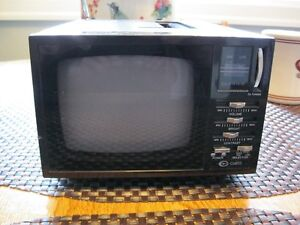 1991 Curtis 5'' Black and White Television 150.00 Dollars Firm