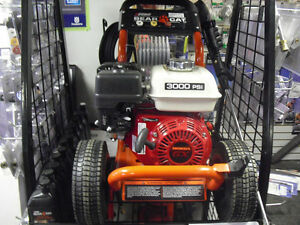 Honda powered pressure washers