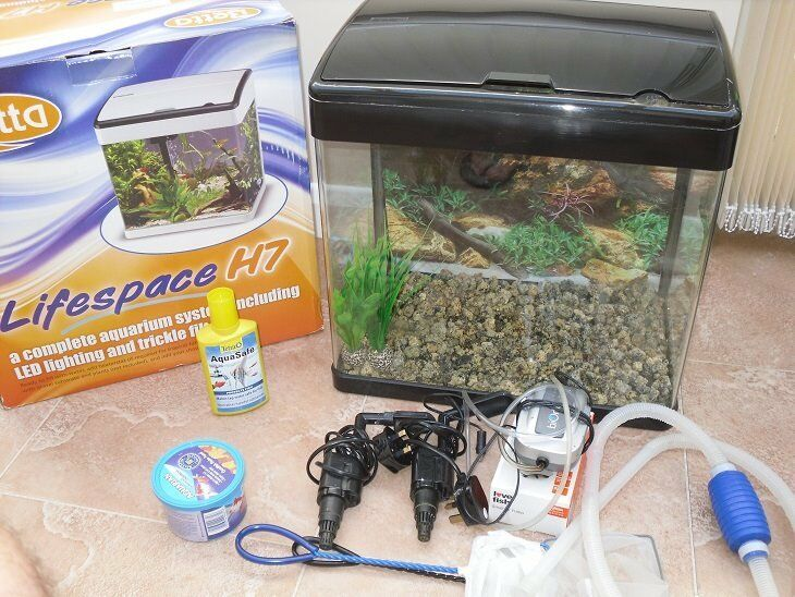 Lifespan H7 Led Fish Tank 47 Litres In Redditch Worcestershire