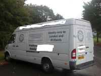 Man and Van Service/Removals Service