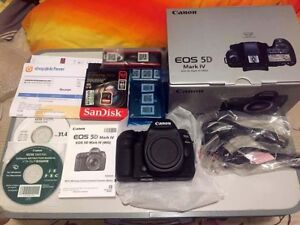 Canon 5D IV - C Log, Extended Warranty + Extras - $4000