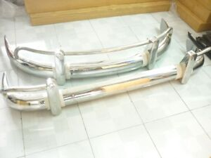 VW BUS TYPE 1 BUMPER CAR IN STAINLESS STEEL