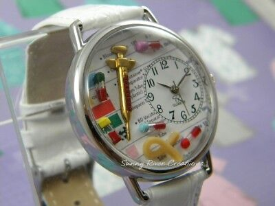 Occupational Phlebotomy Watch chart syringe tiny vials of blood -