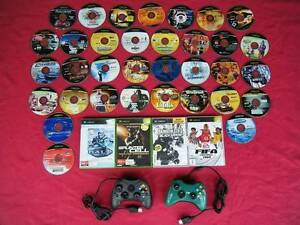 ★XBox 2 Wired Controllers & 38 Games (no console) Logan Village Logan Area Preview
