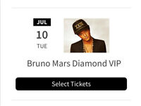 2 tickets for Bruno Mars in Glasgow 10th July