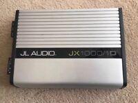 JL AUDIO JX1000/1D Mono Subwoofer Car Audio Amplifier