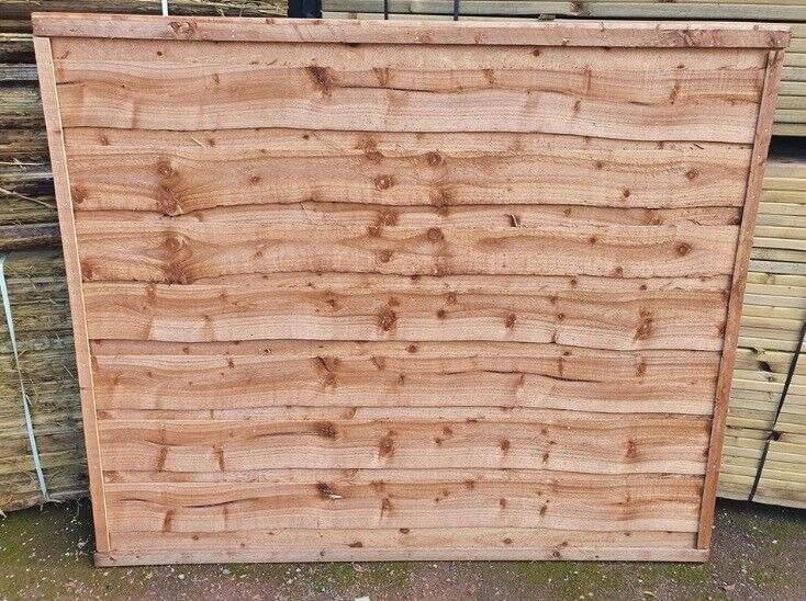 Heavy Duty Waneylap Tanalised Pressure Treated Garden Fence Panels From 17 Each Sandbach In Sandbach Cheshire Gumtree