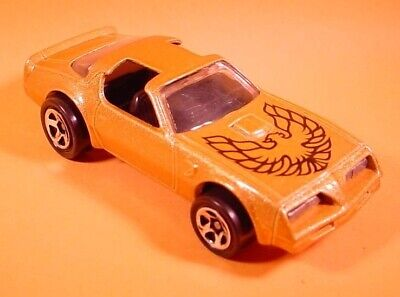 HOT WHEELS GOLD HOT BIRD FIREBIRD-WITH HOOD TAMPO-5SP LOOSE