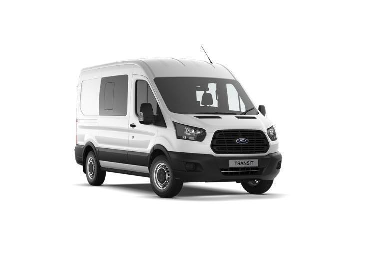 ba3c83f5cb Ford Transit 8211 L2 Diesel Rwd 2.0 TDCi 170ps Trend H2 DCab Van ...