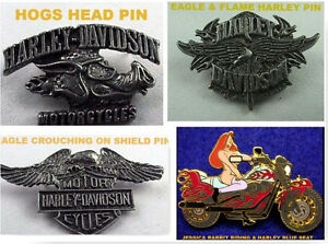 Harley Davidson Unique Vest Pins